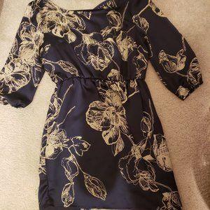Half Sleeved Floral Dress 🎉